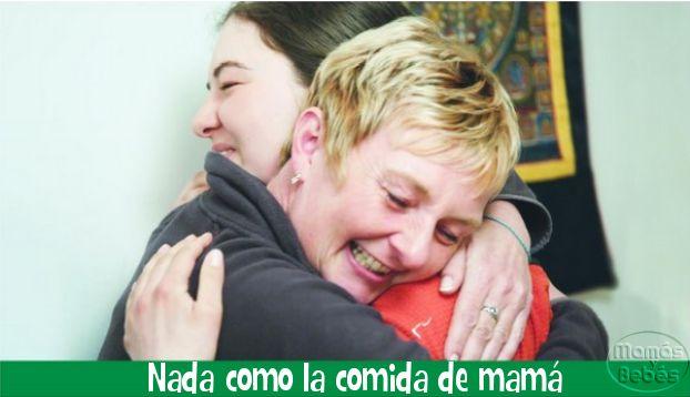 #ad La comida une el hogar de la mamá con el corazón de su hija, no importa que tantos miles de kilómetros haya entre ambas.