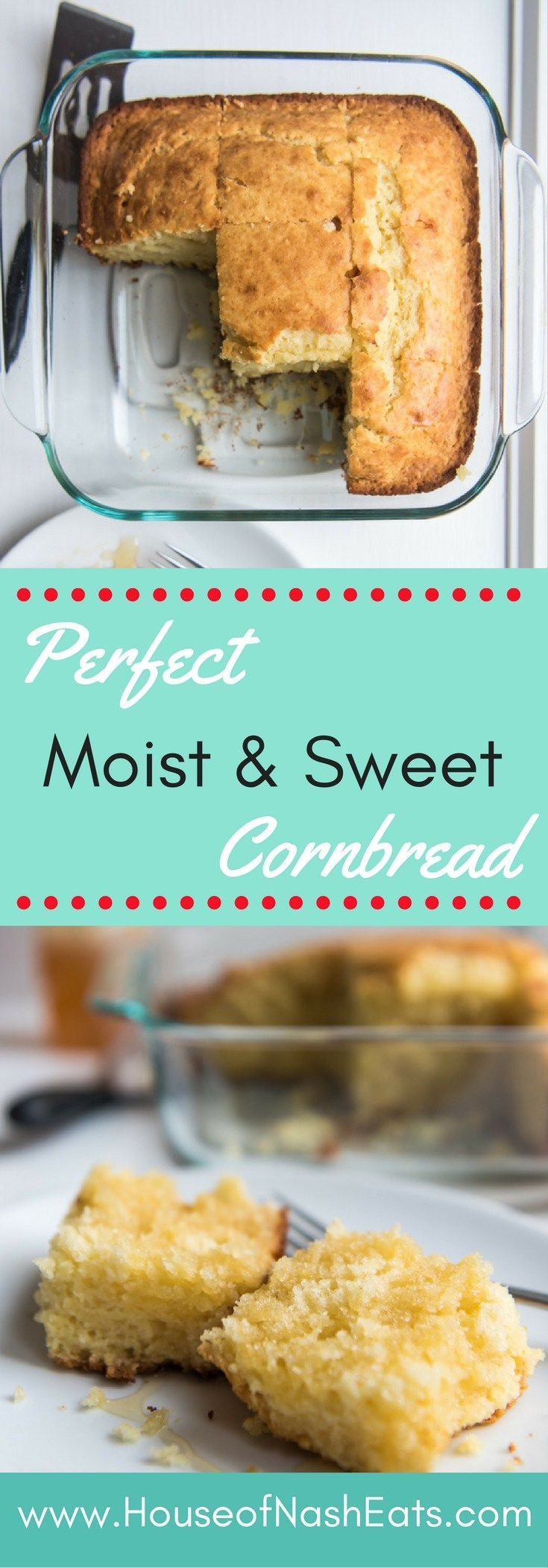 Your search for the ultimate cornbread recipe is over! This soft and slightly…