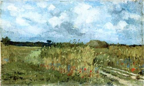 Flowering field  - Ion Andreescu