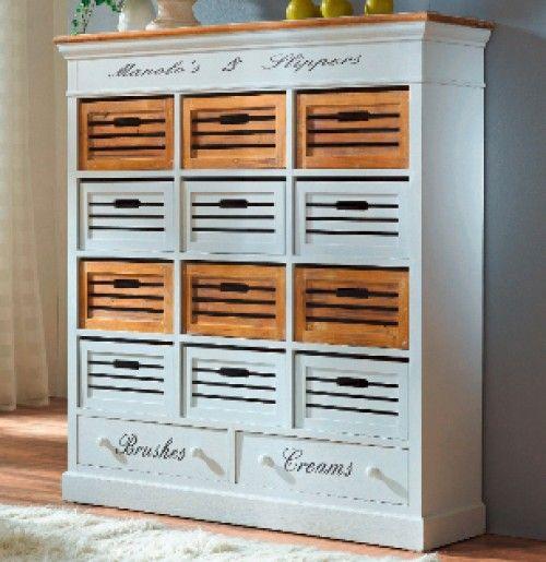 Liebevolle Details Stecken In Diesem Tollen Landhaus Möbel Regal Paris