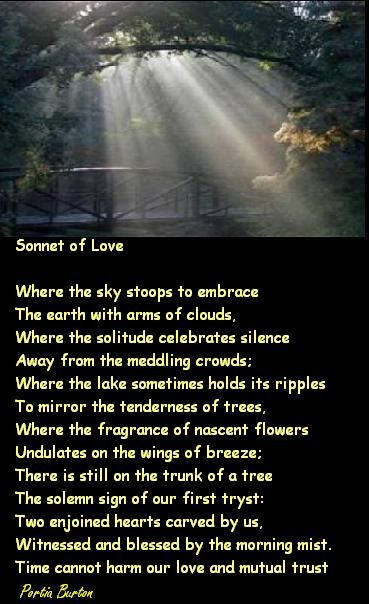 Sonnet Of Love