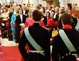 """quatre1six: """" The wedding of Crown Prince Frederik of Denmark and Mary Elizabeth Donaldson, 14 May 2004. *Their wedding at Church of Our Lady in Copenhagen marked the first time in nearly 162 years..."""