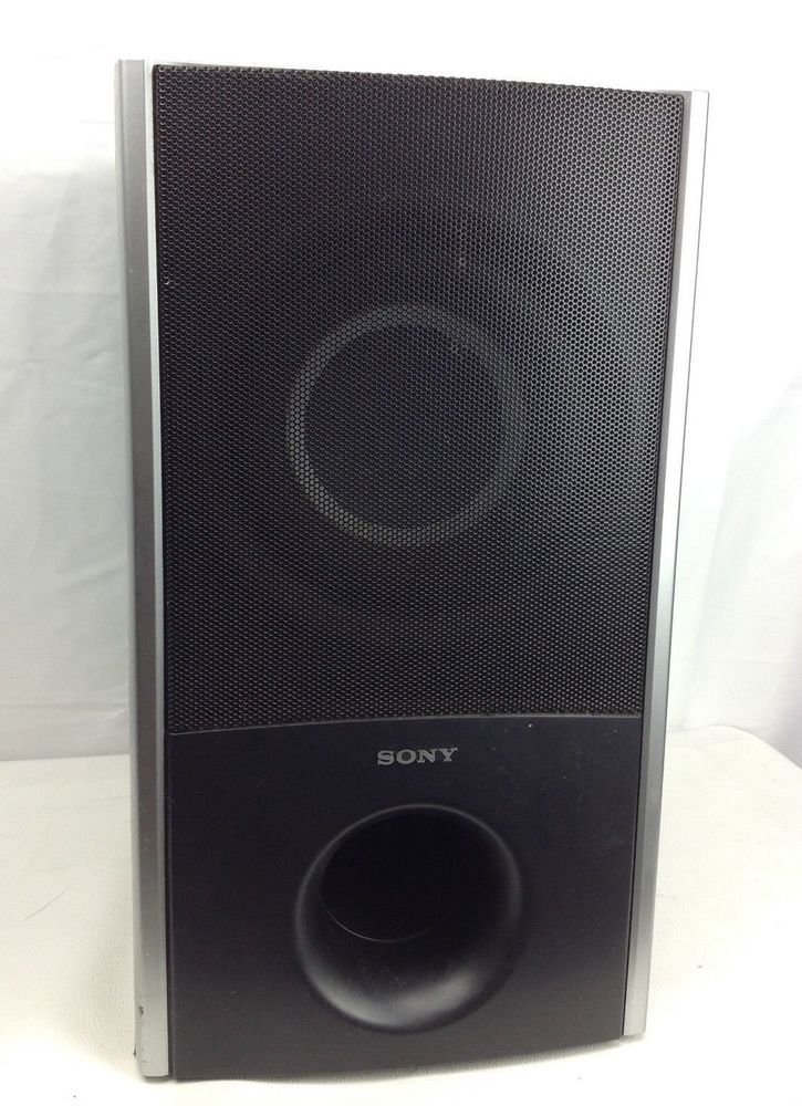 Sony SS-WS82 Passive Subwoofer - WORKS #Sony | Electronics