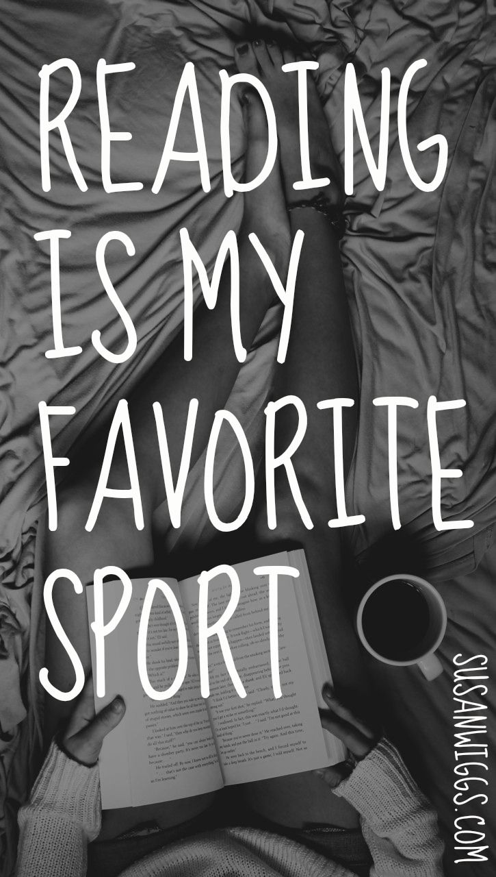Reading is my favorite sport!  #books #reading #romance