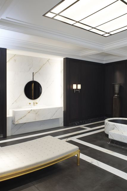 maharajah bathroom designed by jospeh dirand for louis vuitton featured at ad interieurs 2012 architectural - Bathroom Designers