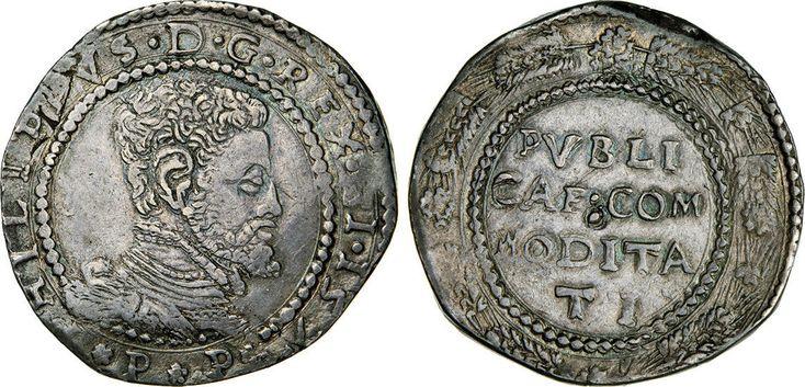 NumisBids: Numismatica Varesi s.a.s. Auction 65, Lot 423 : MESSINA - FILIPPO II (1556-1598) Scudo da 10 Tarì 157(3 ?) MIR...