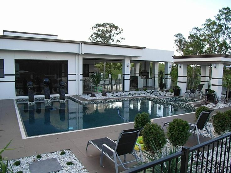 Pool Design Ideas - Get Inspired by photos of Pool Designs from Greenheat Landscapes - Australia | hipages.com.au