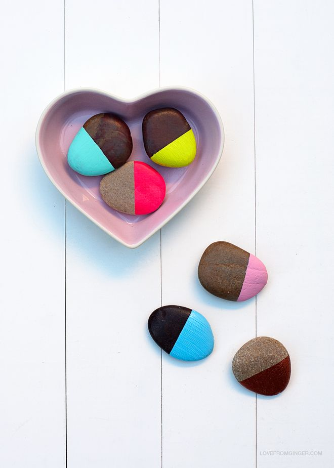 DIY Painted Stones | Love From Ginger