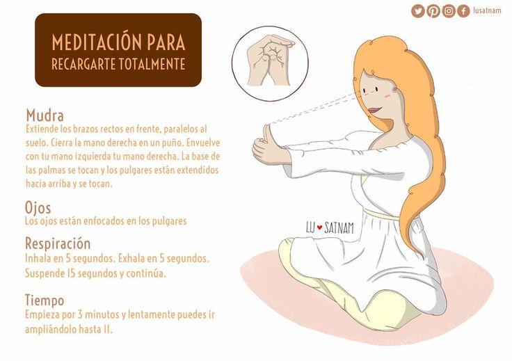MEDITACIÓN PARA RECARGARTE TOTALMENTE