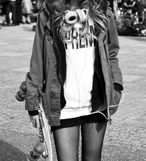Skater Girl look