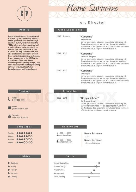 Design Creative Director Resume 1 Things About Design Creative Director Resume You Have To E In 2020 Creative Resume Templates Cv Infographic Resume Template