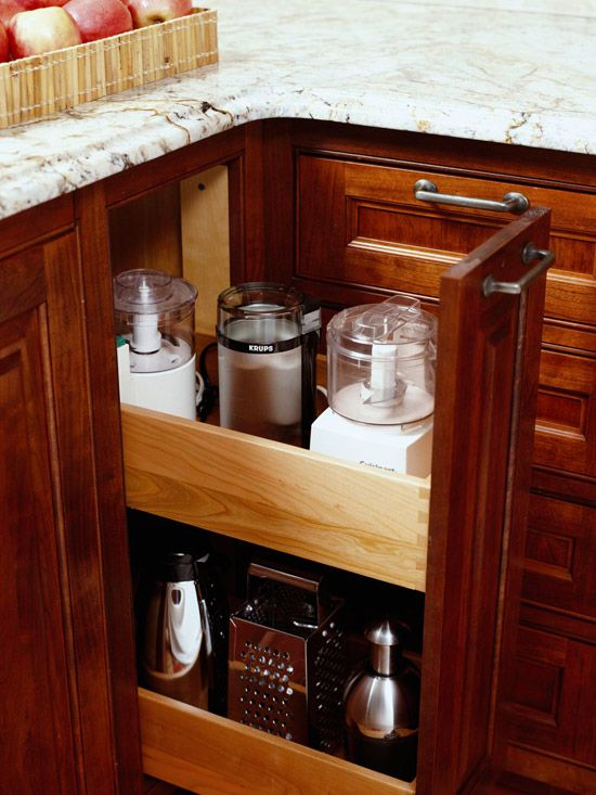 Clever Kitchen Cabinets: Spaces, Storage Solutions, Idea, Small Kitchens, Kitchens Appliances, Kitchens Counter, Kitchens Gadgets, Kitchens Cabinets, Kitchens Storage