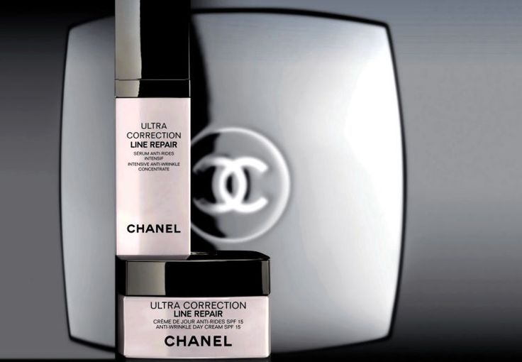 Chanel Ultra Correction Line Repair Serum Intensive Concentrate and Day Cream #CHANEL
