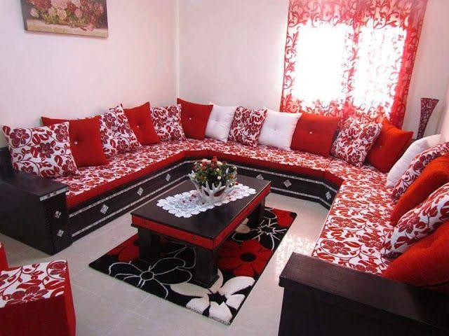 Decorationmarocains Salon Orientale Drawing Room Interior Design Living Room Decor Apartment Sofa Set Designs