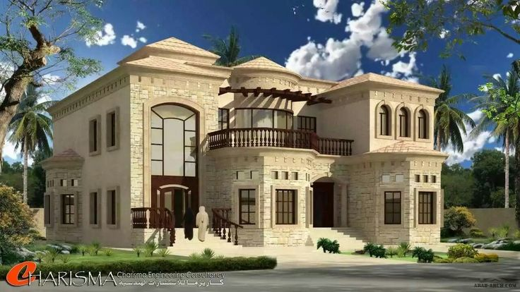Pin by azhar masood on house elevation arabic pinterest for Modern arabic house architecture