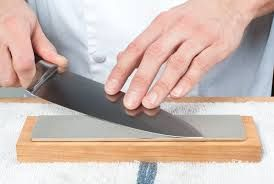 How to sharpen A knife on stone. https://www.knifespecial.com/best-sharpening-stone/