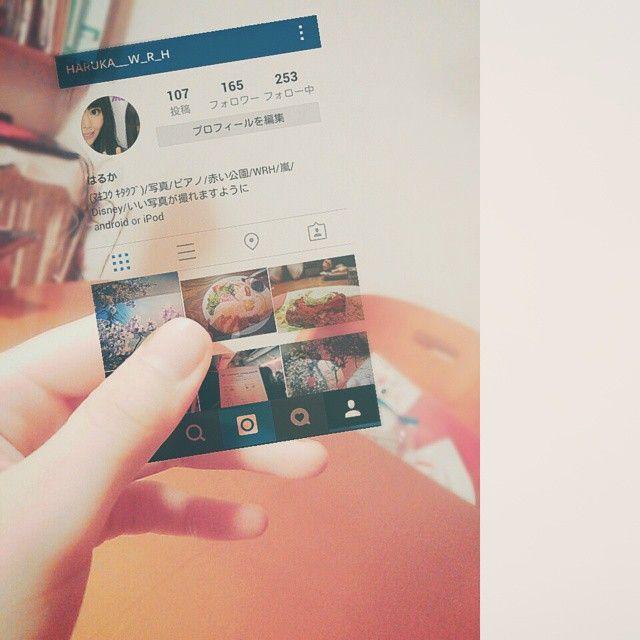 Instagram photo by @haruka__w_r_h (はるか)   Iconosquare