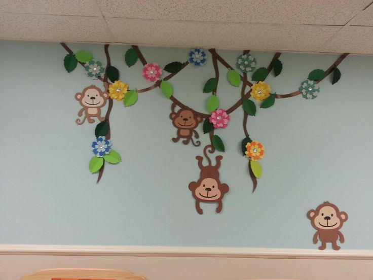 Monkey decor
