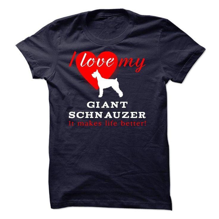 Giant Schnauzer sfs050115 T-Shirts, Hoodies. CHECK PRICE ==► https://www.sunfrog.com/Pets/Giant-Schnauzer-sfs050115.html?id=41382