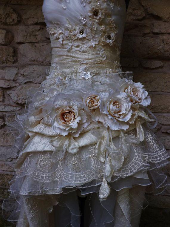RESERVED for Staci Handmade Wedding Dress Mini Plus от Arabescque