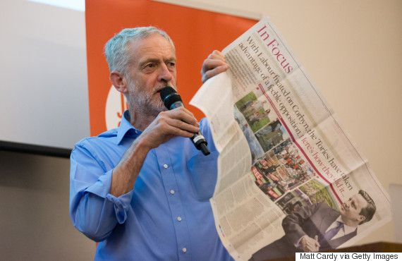 Jeremy Corbyn 'Systematically' Attacked By British Press The Moment He Became Leader, Research Claims