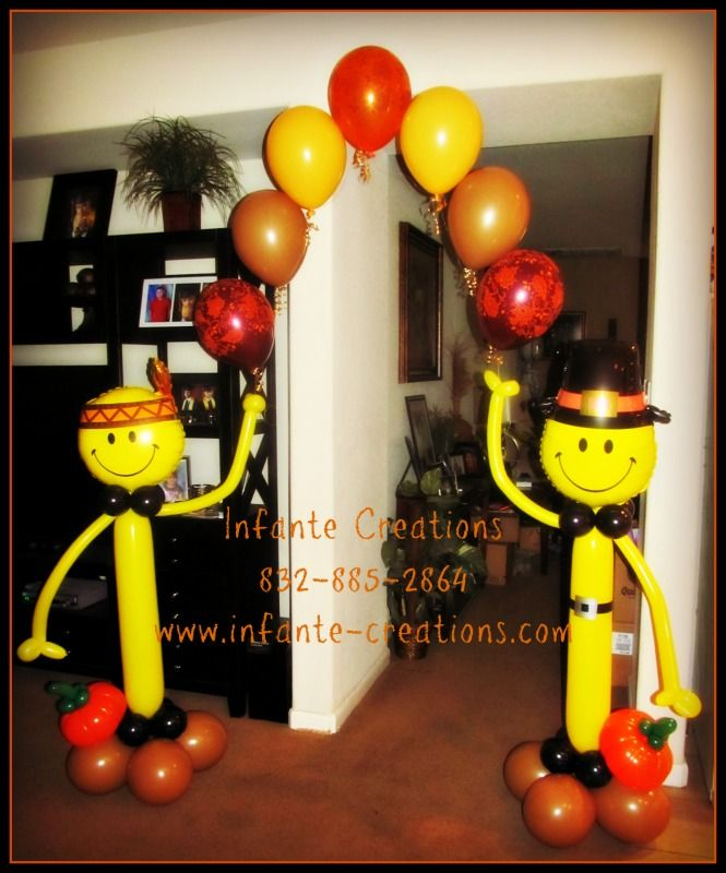 Decorating Ideas > 1068 Best Images About Balloon Decorations On Pinterest  ~ 061918_Thanksgiving Balloon Decorations