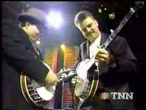 "Ricky Skaggs & Kentucky Thunder with Del McCoury Band - ""Rawhide: -- they be jammin'"