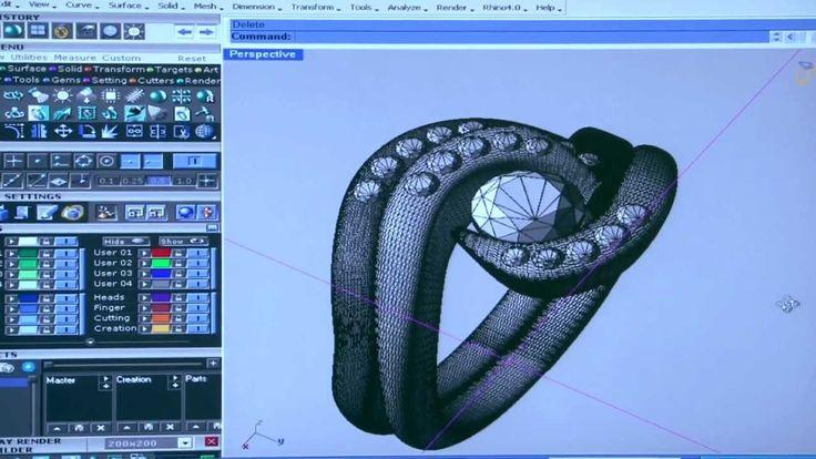 Making a bespoke diamond engagement ring