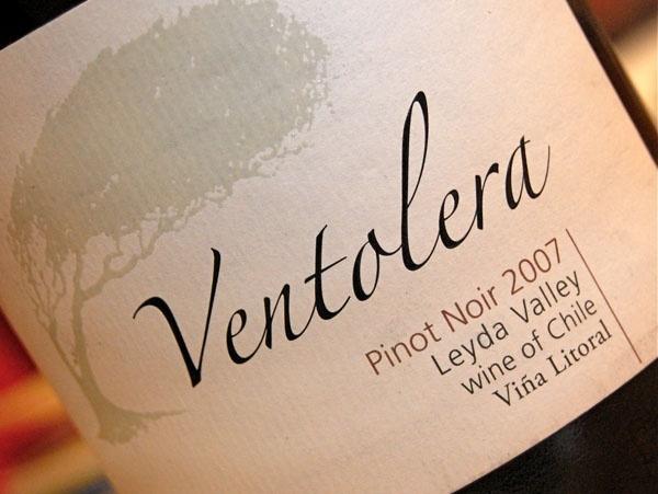 Ventolera Pinot Noir- Leyda