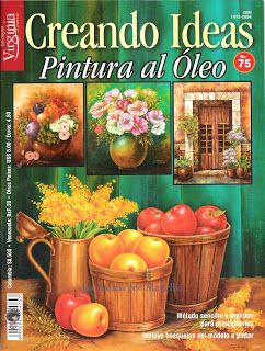 Revistas de Manualidades Para Descargar: Creando Ideas Nº 75 Pintura al Oleo