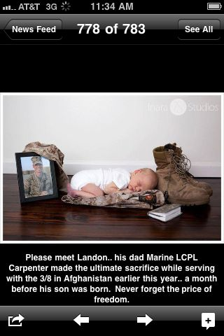 jrc18usafwife:    waitingformyotherhalf:    Saw this on my Facebook newsfeed I started crying     my heart just broke :'(  (Source: tomorrow-iwillbestronger, via battosai1)Facebook Feeding, Military Men, Facebook Newsfeed, Heartbreaking Precy, Sob Uncontrollable, I M Sob, Baby, Start Cry, Military Families