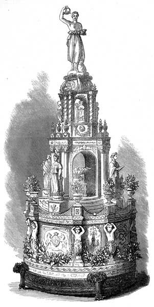 Royal Cake 1871 Princess Louise Sixth Child Of Queen Victoria And