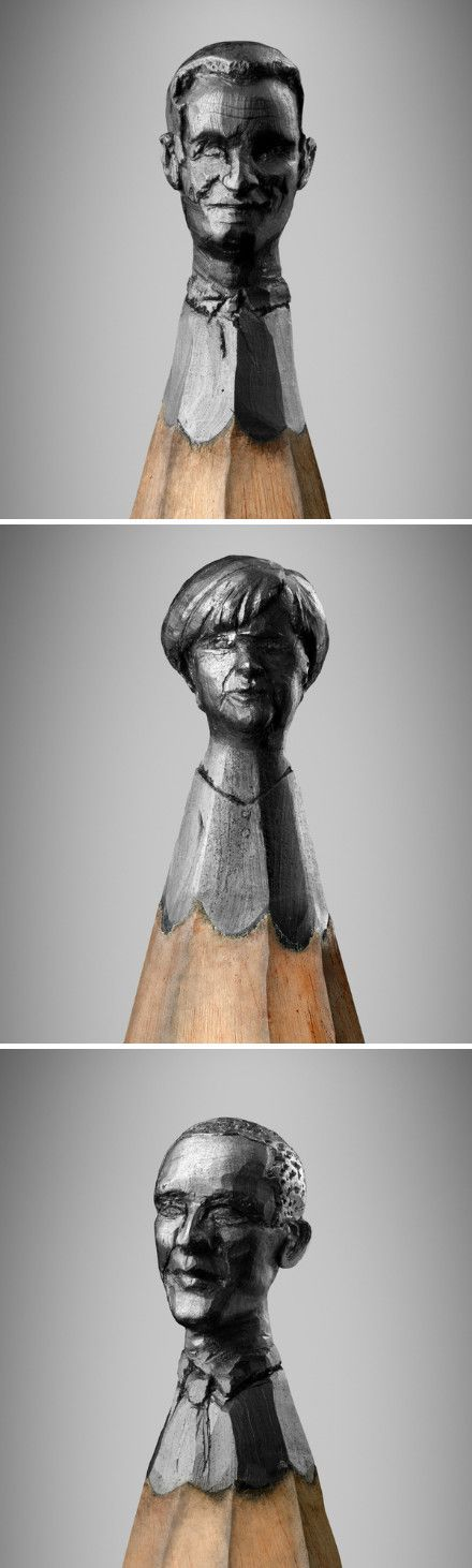 sculpture on pencil top :)
