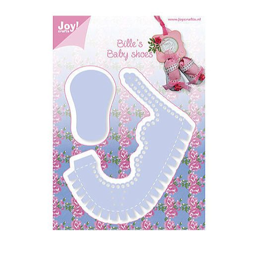 Joy! Crafts Cutting & Embossing Dies - Billie's Baby Shoe ...
