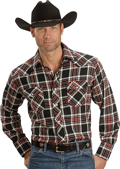 Your either wearing Wrangler shirts or your wearing a shirt that secretly wishes it was a wrangler shirt