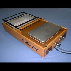 Build Your Own Vacuum Forming Machine                                                                                                                                                                                 More