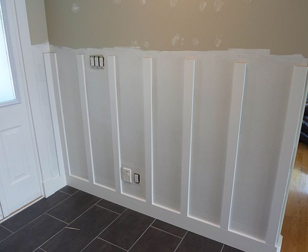 Diy Board And Batten Wainscoting The Home Depot