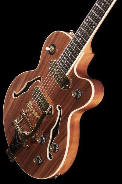 Une Epiphone Wildkat Koa. Retrouvez des cours de guitare d'un nouveau genre sur MyMusicTeacher.fr