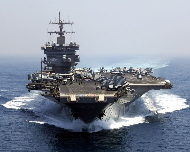 The once and future King.  CVN-65 Enterprise, sixth ship in the fleet under this name, back to 1799. Decommissioned 12.1.12  Soon to be commissioned as CVN-80, third ship of the Gerald R. Ford class series (after CVN-79 Kennedy).