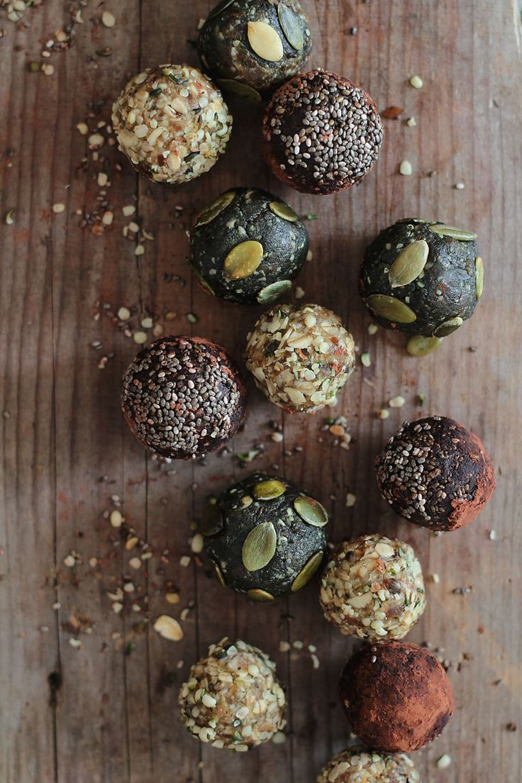 Raw Energy Balls - healthy snack idea.