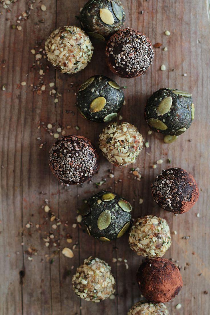 Raw Energy Balls - healthy snack idea.
