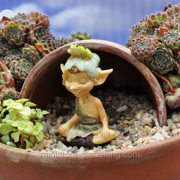 19 Best Images About Mini Garden Gnomes Little Ones On