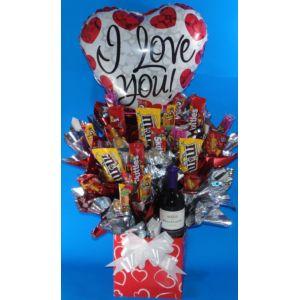 82 best images about candy bouquets dulces chocolates - Dulces de san valentin ...