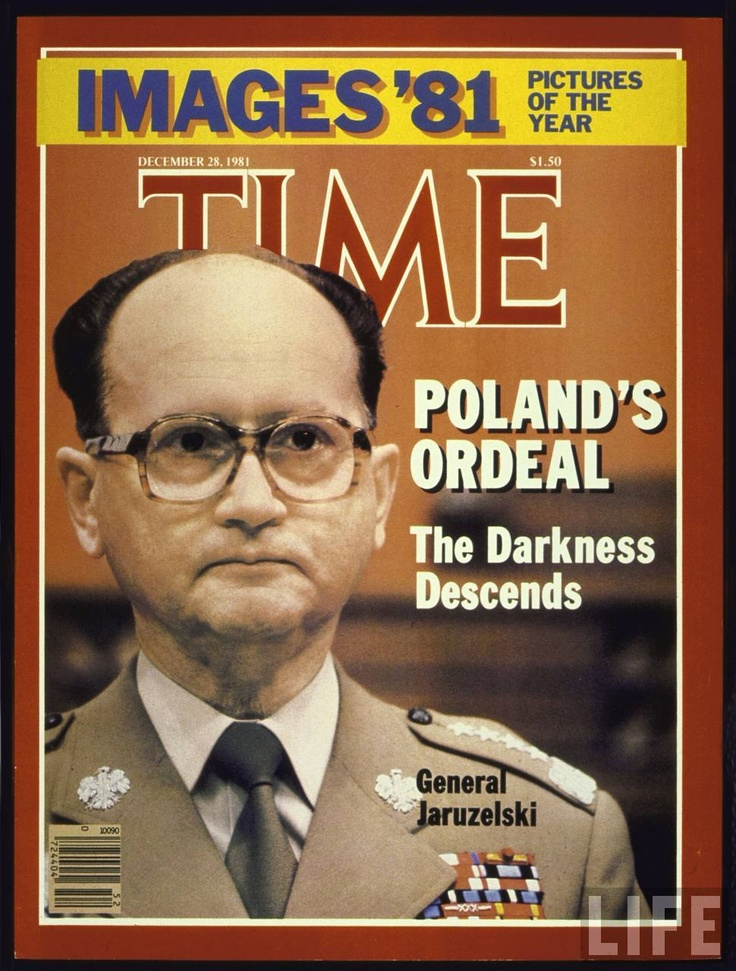 Wojciech Jaruzelski - The criminal that marched to Moscow's beat and oppressed the many.