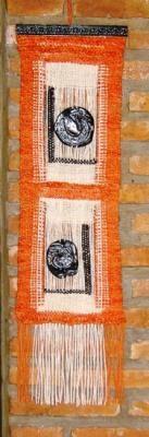 tapiz en telar tapiz lana de oveja,iconos en masilla tejido en telar-bastidor