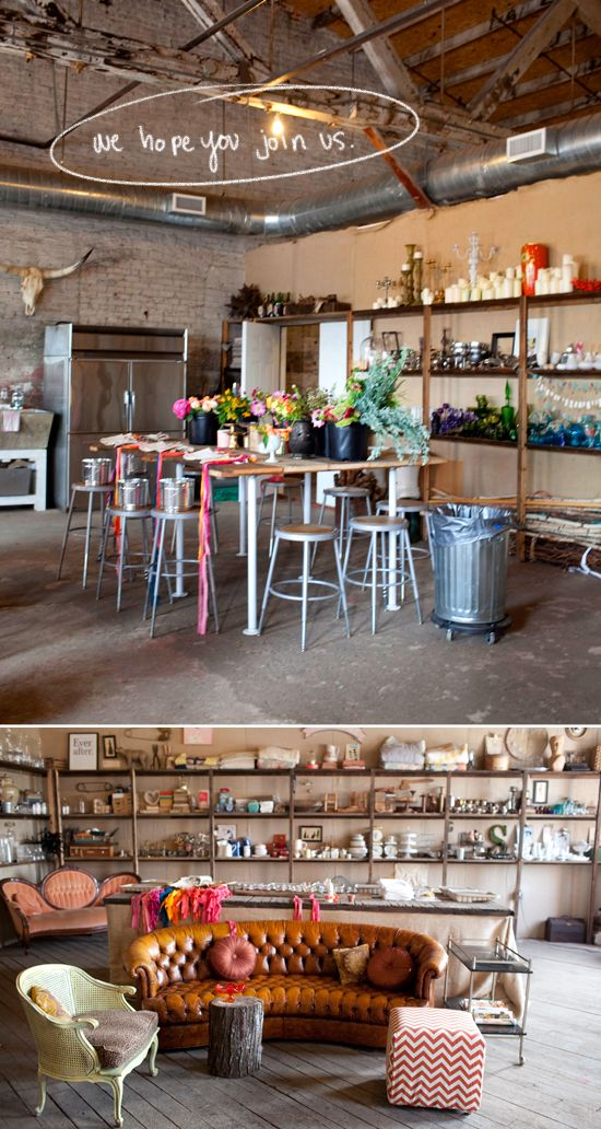 furniture via designlovefest and blogshop in atl!