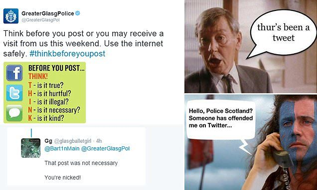 TAKE IT FROM US: Police post advice on how to post things safely - and people mock them