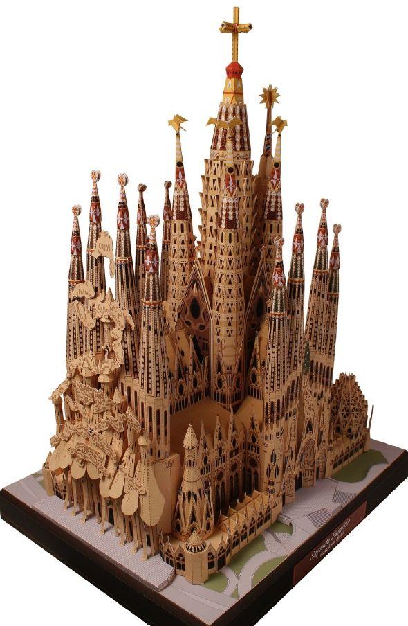Paper Model by Creative Park canon.com/c-park (click image ...