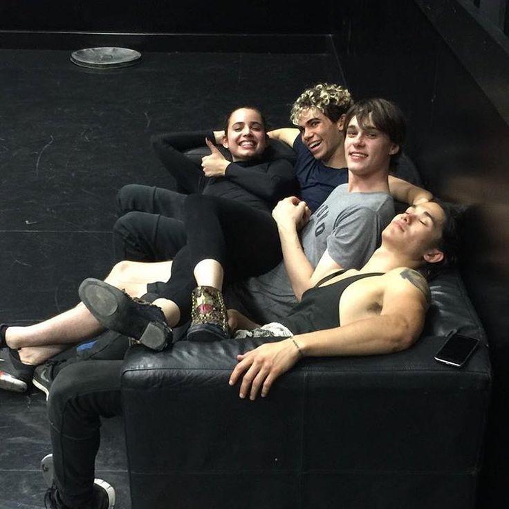 Sofia Carson, Cameron Boyce, Mitchell Hope and Booboo Stewart