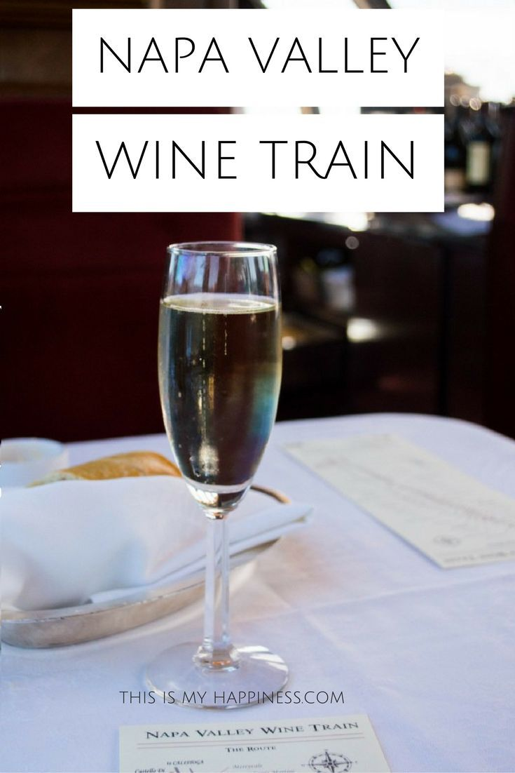 What it's like to take the Napa Valley Wine Train